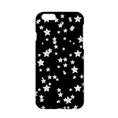 Black And White Starry Pattern Apple Iphone 6/6s Hardshell Case by DanaeStudio