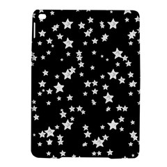 Black And White Starry Pattern Ipad Air 2 Hardshell Cases by DanaeStudio
