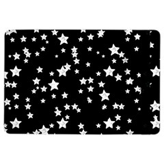 Black And White Starry Pattern Ipad Air 2 Flip by DanaeStudio