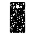 Black And White Starry Pattern Samsung Galaxy A5 Hardshell Case