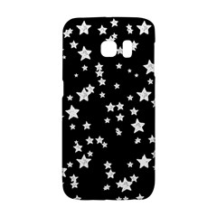 Black And White Starry Pattern Galaxy S6 Edge by DanaeStudio