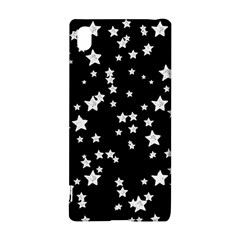 Black And White Starry Pattern Sony Xperia Z3+ by DanaeStudio