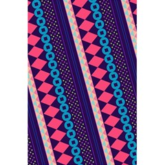 Purple And Pink Retro Geometric Pattern 5 5  X 8 5  Notebooks by DanaeStudio