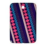 Purple And Pink Retro Geometric Pattern Samsung Galaxy Note 8.0 N5100 Hardshell Case