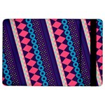Purple And Pink Retro Geometric Pattern iPad Air 2 Flip