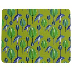 Tropical Floral Pattern Jigsaw Puzzle Photo Stand (rectangular) by dflcprints
