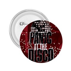 Panic At The Disco Poster 2 25  Buttons by Onesevenart