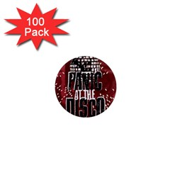 Panic At The Disco Poster 1  Mini Magnets (100 Pack)  by Onesevenart