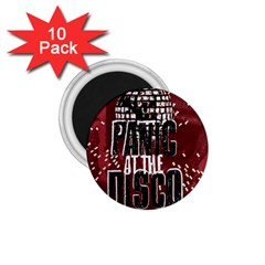 Panic At The Disco Poster 1 75  Magnets (10 Pack)  by Onesevenart