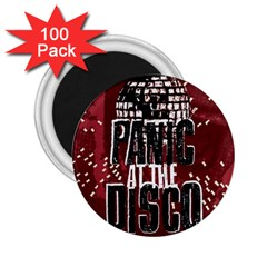 Panic At The Disco Poster 2 25  Magnets (100 Pack)  by Onesevenart
