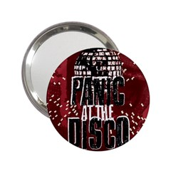 Panic At The Disco Poster 2 25  Handbag Mirrors by Onesevenart