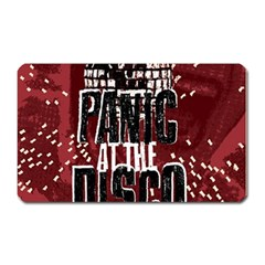 Panic At The Disco Poster Magnet (rectangular) by Onesevenart