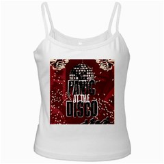 Panic At The Disco Poster Ladies Camisoles by Onesevenart