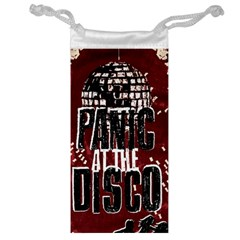 Panic At The Disco Poster Jewelry Bags by Onesevenart