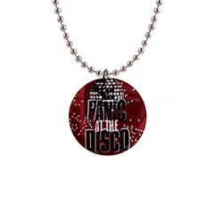 Panic At The Disco Poster Button Necklaces by Onesevenart