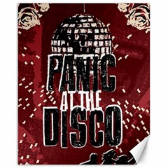 Panic At The Disco Poster Canvas 16  X 20   by Onesevenart