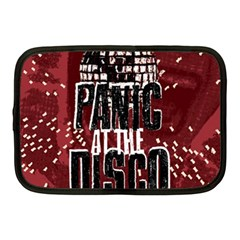 Panic At The Disco Poster Netbook Case (medium)  by Onesevenart