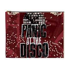 Panic At The Disco Poster Cosmetic Bag (xl) by Onesevenart