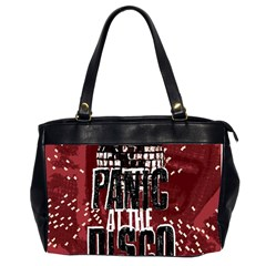 Panic At The Disco Poster Office Handbags (2 Sides)  by Onesevenart