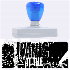 Panic At The Disco Poster Rubber Address Stamps (xl) by Onesevenart