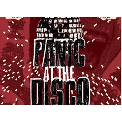 Panic At The Disco Poster Birthday Cake 3d Greeting Card (7x5) by Onesevenart