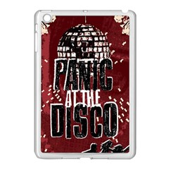 Panic At The Disco Poster Apple Ipad Mini Case (white) by Onesevenart