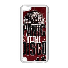 Panic At The Disco Poster Apple Ipod Touch 5 Case (white) by Onesevenart