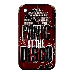 Panic At The Disco Poster Apple Iphone 3g/3gs Hardshell Case (pc+silicone) by Onesevenart
