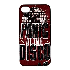 Panic At The Disco Poster Apple Iphone 4/4s Hardshell Case With Stand by Onesevenart