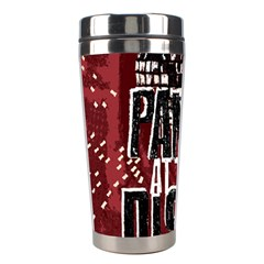 Panic At The Disco Poster Stainless Steel Travel Tumblers by Onesevenart