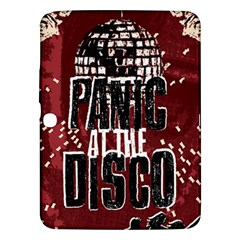 Panic At The Disco Poster Samsung Galaxy Tab 3 (10 1 ) P5200 Hardshell Case  by Onesevenart