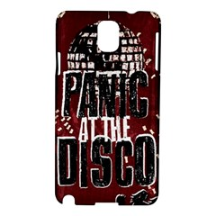 Panic At The Disco Poster Samsung Galaxy Note 3 N9005 Hardshell Case by Onesevenart
