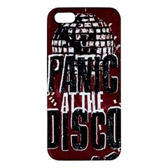 Panic At The Disco Poster Iphone 5s/ Se Premium Hardshell Case by Onesevenart