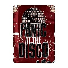 Panic At The Disco Poster Samsung Galaxy Note 10 1 (p600) Hardshell Case by Onesevenart