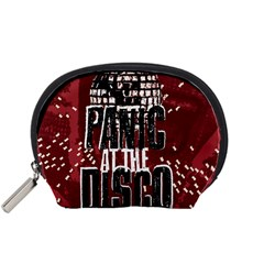 Panic At The Disco Poster Accessory Pouches (small)  by Onesevenart