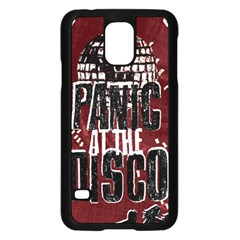Panic At The Disco Poster Samsung Galaxy S5 Case (black) by Onesevenart