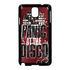 Panic At The Disco Poster Samsung Galaxy Note 3 Neo Hardshell Case (black) by Onesevenart