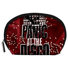 Panic At The Disco Poster Accessory Pouches (large)  by Onesevenart