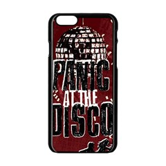 Panic At The Disco Poster Apple Iphone 6/6s Black Enamel Case by Onesevenart