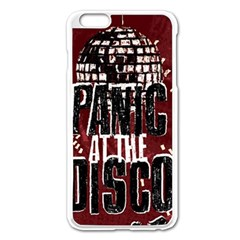 Panic At The Disco Poster Apple Iphone 6 Plus/6s Plus Enamel White Case by Onesevenart