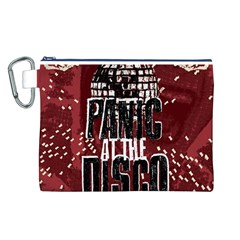 Panic At The Disco Poster Canvas Cosmetic Bag (l) by Onesevenart