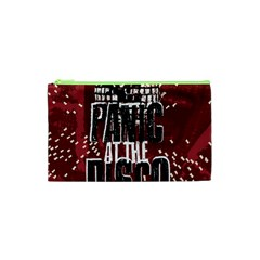Panic At The Disco Poster Cosmetic Bag (xs) by Onesevenart