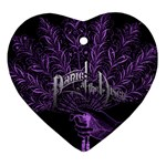 Panic At The Disco Ornament (Heart)
