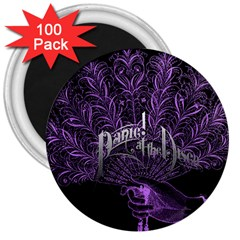 Panic At The Disco 3  Magnets (100 Pack) by Onesevenart