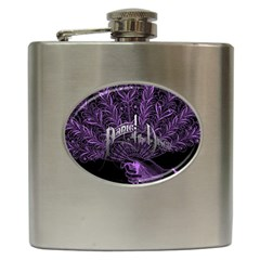 Panic At The Disco Hip Flask (6 Oz) by Onesevenart