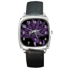 Panic At The Disco Square Metal Watch by Onesevenart