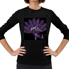 Panic At The Disco Women s Long Sleeve Dark T Shirts by Onesevenart