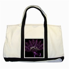 Panic At The Disco Two Tone Tote Bag by Onesevenart