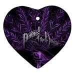Panic At The Disco Heart Ornament (2 Sides)