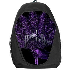 Panic At The Disco Backpack Bag by Onesevenart